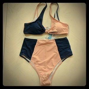 Cupshe high-waisted bikini